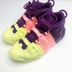 New Nike Air More Uptempo GS Kid/Women's Shoe